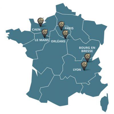 Mutual logistics locations